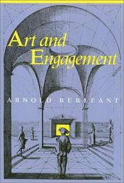 Cover of: Art and engagement