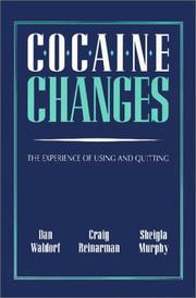 Cover of: Cocaine changes | Dan Waldorf