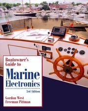 Cover of: Boatowner's guide to marine electronics