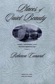 Cover of: Places of quiet beauty