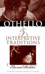 Cover of: Othello and interpretive traditions