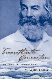 Cover of: Transatlantic Connections