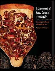 A Sourcebook of Nasca Ceramic Iconography by Donald A. Proulx