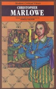 Cover of: Christopher Marlowe |