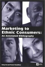 Cover of: Marketing to Ethnic Consumers | Geng Cui