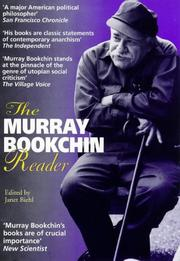 Cover of: The Murray Bookchin reader