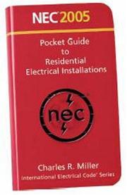 Cover of: Pocket guide to residential electrical installations