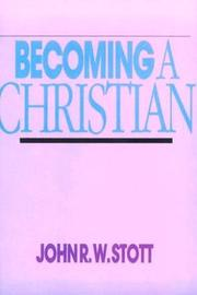 Cover of: Becoming A Christian