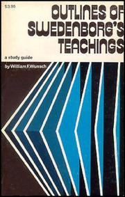 Cover of: Outlines of Swedenborg's teachings