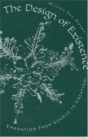 Cover of: The Design of Existence