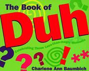 Cover of: The book of duh