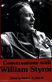Cover of: Conversations with William Styron