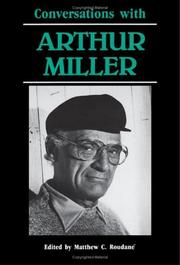 Cover of: Conversations with Arthur Miller