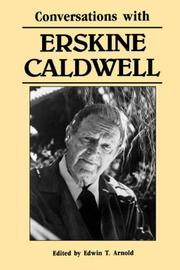 Cover of: Conversations with Erskine Caldwell | Caldwell, Erskine