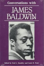 Cover of: Conversations with James Baldwin