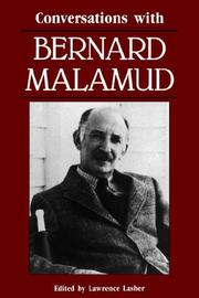 Cover of: Conversations with Bernard Malamud