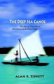 Cover of: deep-sea canoe | Alan Richard Tippett