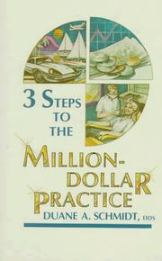 Cover of: 3 steps to the million-dollar practice