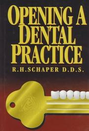 Cover of: Opening a dental practice