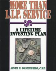 Cover of: More than L.I.P. service