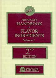 fenaroli handbook of flavor ingredients