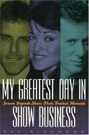 Cover of: My greatest day in show business