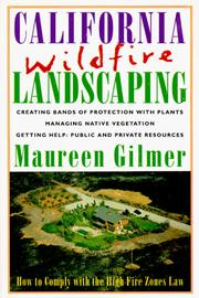 Cover of: California wildfire landscaping