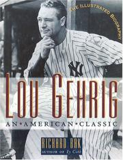 Cover of: Lou Gehrig