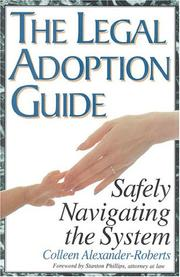 Cover of: The legal adoption guide