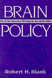 Cover of: Brain policy