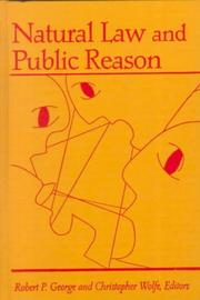 Cover of: Natural law and public reason |