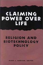 Cover of: Claiming Power Over Life