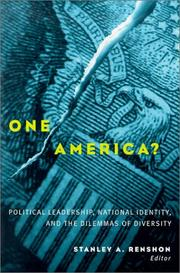 Cover of: One America?