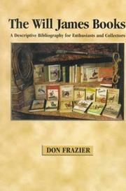 The Will James books by Don Frazier