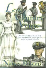 Cover of: Low Country Voices | Nancy Rhyne