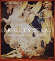 Cover of: Sargent's murals in the Museum of Fine Arts, Boston