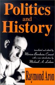 Cover of: Politics and history: selected essays