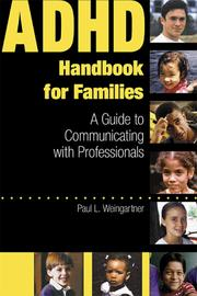 Cover of: ADHD Handbook for Families