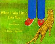 When I Was Little Like You by Jane Porett