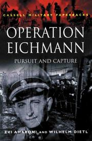 Cover of: Operation Eichmann |