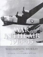 Cover of: War in the air, 1914-45