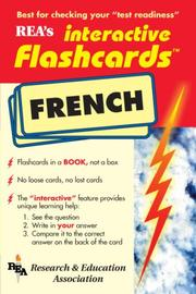 Cover of: French Interactive Flashcard Book