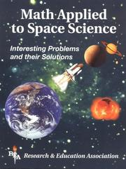 Cover of: Math Applied to Space Science