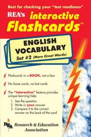 Cover of: REA's interactive flashcards