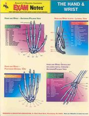 Cover of: Hand and Wrist Exam Notes