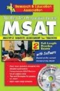 Cover of: MSAT/ with CD-ROM - The Best Test Prep for the MSAT