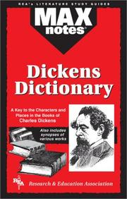 Cover of: A Dickens dictionary