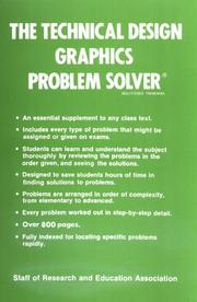 Cover of: The Technical design graphics problem solver