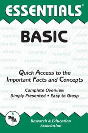 Cover of: The essentials of BASIC