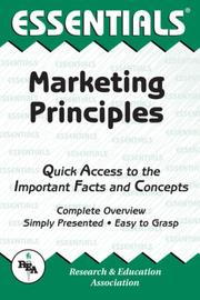 Cover of: The Essentials of Marketing Principles (Essentials)